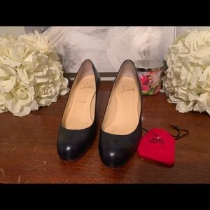 Authentic Louboutin Navy Fifi's